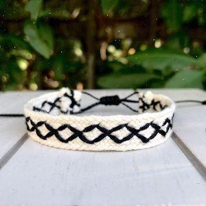 Jewelry - Ethnic Rhombus Woven Bracelet